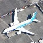 Boeing 787 Dreamliner (Google Maps)