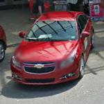 2011 Chevrolet Cruze and pre-production 2011 Chevrolet Volt (StreetView)
