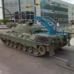 Canadian Army Tanks (StreetView)