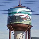 Water Tower Art (StreetView)