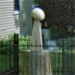 Replica Super Bowl trophy (StreetView)