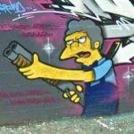 Moe from 'The Simpsons""
