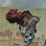 Africa graffiti