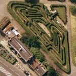 Hampton Court Maze (Google Maps)