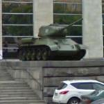 T-34 static display (StreetView)