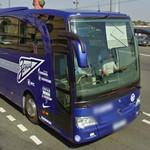 FC Zenit St Petersburg team bus