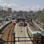 Trains in Moska-Smolenskaya