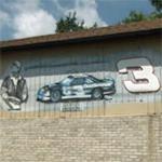 Dale Earnhardt mural