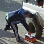 Repairing the truck