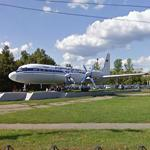 Ilyushin Il-18 on display