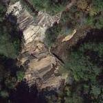 "Daryl in the Ravine (""The Walking Dead"") (Google Maps)"