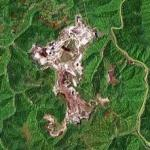 Mountain Top Removal in West Virginia (Google Maps)