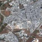 Baba Amr Besieged (Google Maps)