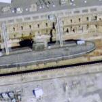 Submarine HMS Courageous (Google Maps)