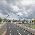 'Blue Arches Bridge' by Marijke de Goey (StreetView)