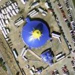 Universoul Circus in progress (Google Maps)