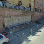 Medioeval fountain - Fabriano (StreetView)