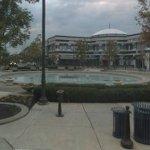 Town center fountain