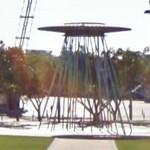 2000 Olympic cauldron fountain (StreetView)