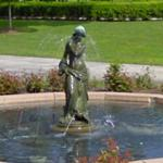 Dove Girl Fountain
