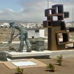 """""""El Salinero"""" in roundabout"""