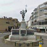 War Memorial in roundabout
