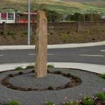 Monument in roundabout