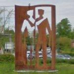 'Couple in Conversation' by Johannes von Stumm (StreetView)