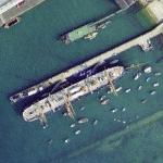 HMS Warrior (Google Maps)