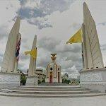 Democracy Monument (Thailand Highway's Kilometre Zero)