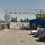 Gdańsk Shipyard gate, formerly Lenin Yard (StreetView)