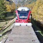 Rhaetian Railway Train