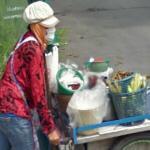 Masked vendor (StreetView)