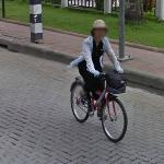 Biking to work (StreetView)