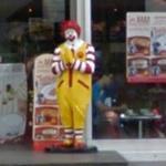 Ronald McDonald statue (StreetView)