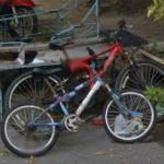 Two Unmanned Bikes