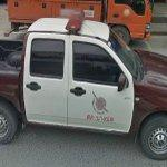 Thai police truck
