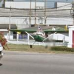 Cessna outside Hua Hin Airport (StreetView)