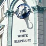 The White Elephant Pub sign