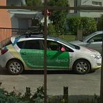 Google car reflection!!