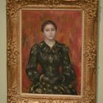 'Portrait of Mme. Paulin' by Pierre Auguste Renoir