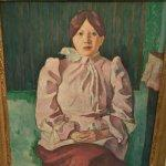 'Portrait of Marie Lemasson' by Emile Bernard