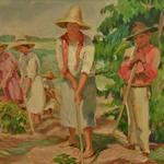 'On The Coffee Plantation' by Georgina de Albuquerque