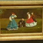 'Croquet Scene' by Winslow Homer