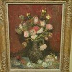 'Vase with Chinese asters and gladioli' by Vincent van Gogh