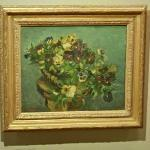 'Basket of pansies' by Vincent van Gogh