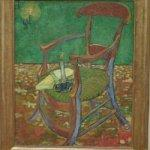'Gauguin's chair' by Vincent van Gogh