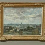 'View of Paris' by Vincent van Gogh