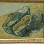 'A pair of leather clogs' by Vincent van Gogh