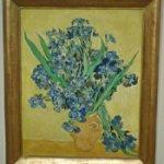 'Irises' by Vincent van Gogh